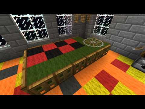 Minecraft Casino Furniture - Roulette and Slots - YouTube