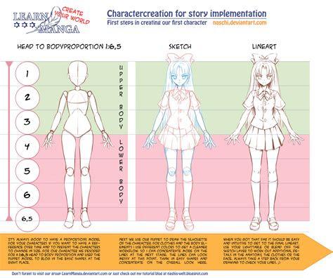 learn manga create  world cc proportions  naschi