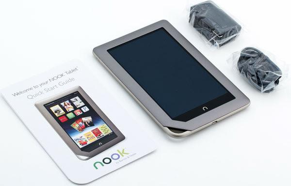 Комплектация Nook Tablet