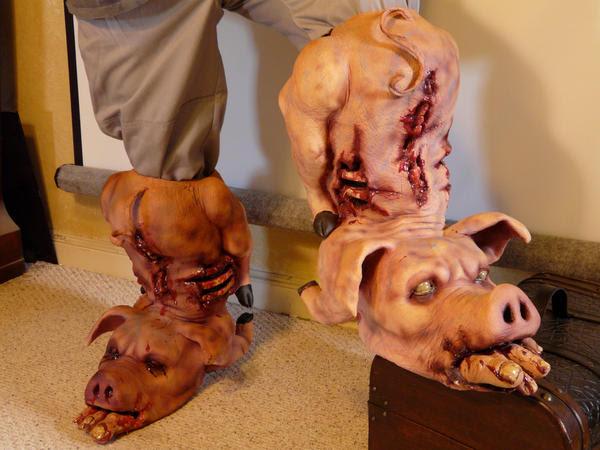 PIG BOOTS by chuckjarman