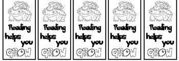 Pokemon Coloring Bookmarks