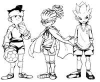 Disegni Da Colorare Inazuma Eleven Morning Kids