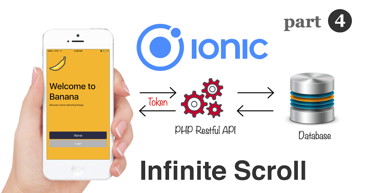 Ionic and Angular: Infinite Scrolling with RESTful APIs