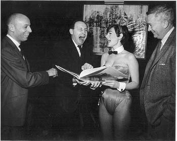 Will Elder, Harvey Kurtzman, una coniglietta di Playboy e Jack Davis