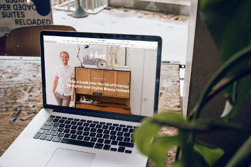 Business website owner going global
