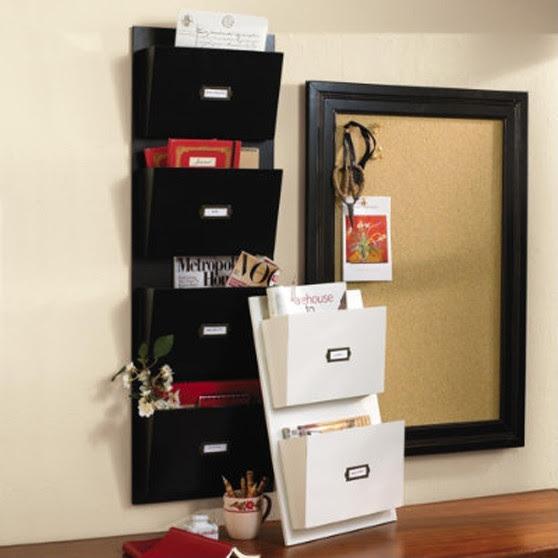 Wood Wall Pockets - traditional - wall shelves - by Ballard Designs