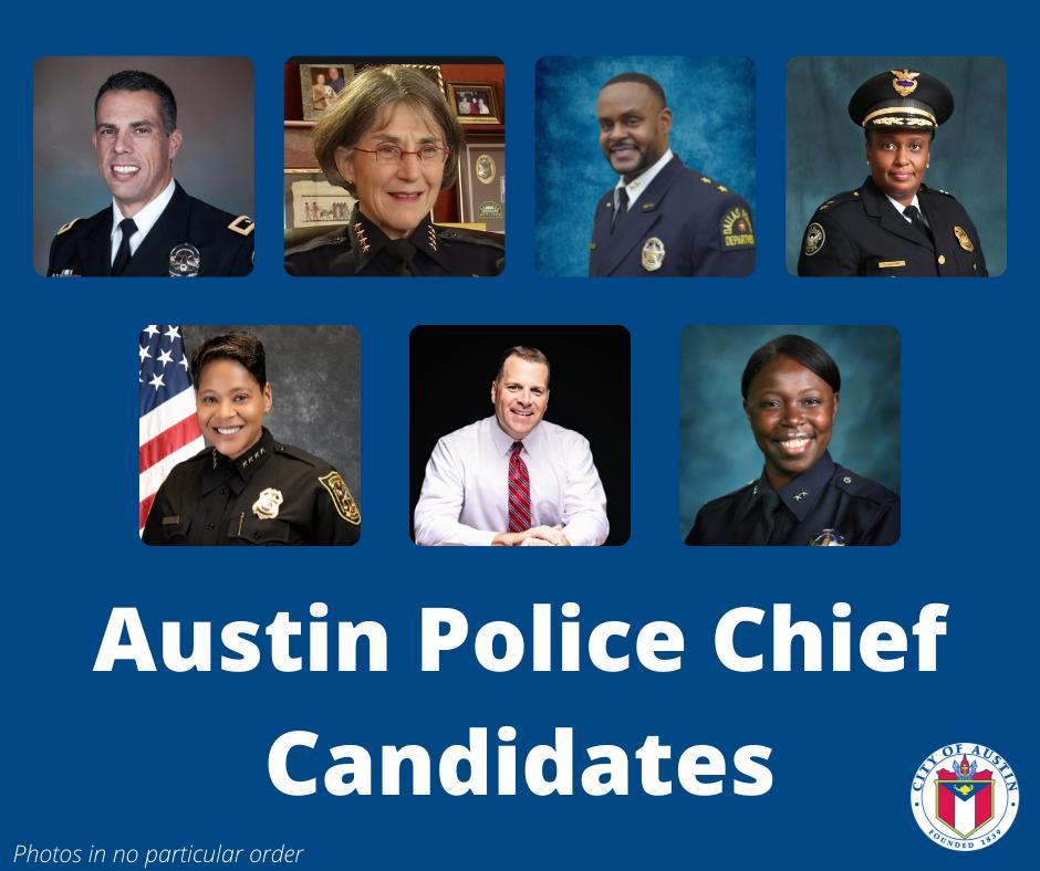 Austin police chief candidates
