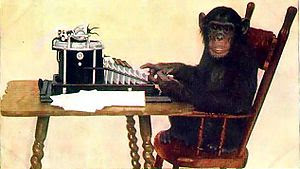 Chimpanzee Typing