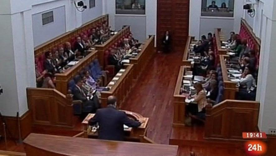 La innecesaria sala de plenos de las Cortes de Castilla-La Mancha