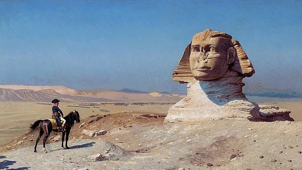 Resultado de imagen para QUE VIO NAPOLEON EN EGIPTO