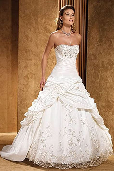 17 Best ideas about Taffeta Wedding Dresses on Pinterest
