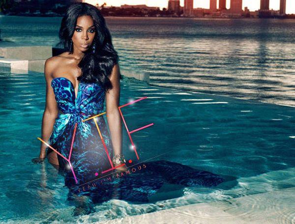 Ebony - July 2012, Kelly Rowland, Trey Songz