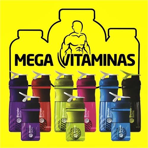 Chegaram novas cores da @BlenderBottle, coqueteleiras de maior sucesso nos EUA. Qual a sua preferida? by Mega Vitaminas