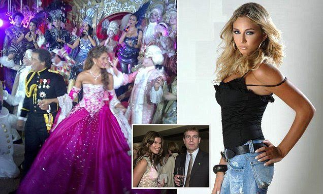 The Lebanese supermodel Loujain Adada who sparked a £4 BILLION divorce battle