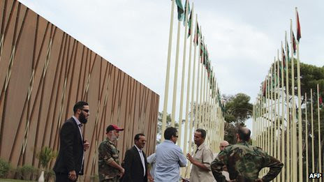 Libya armed men occupied a section of the General National Congress parliament on November 1, 2012. They were said to be against the composition of the new cabinet. by Pan-African News Wire File Photos