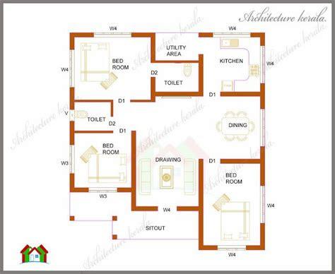 architecture kerala  bedrooms   square feet