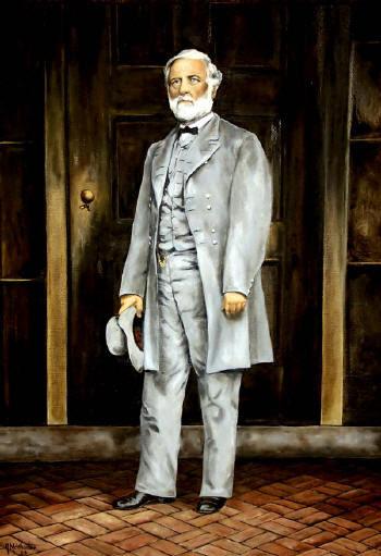 robert e lee. Robert E. Lee Portrait