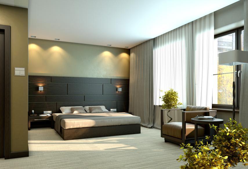 Bedroom texture design