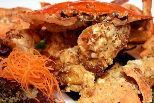 Double Baked Crab a la Singapura: $4.50 per 100g