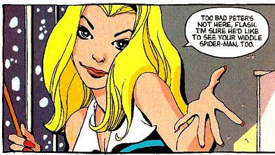 Spider-Man: Blue #4 panel