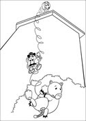 Slinky Dog coloring page | Free Printable Coloring Pages