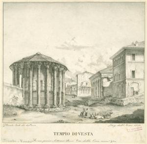 Tempio di Vesta. Digital ID: 1625077. New York Public Library
