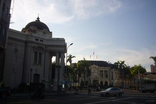台中州廳(~2010台中市政府)建築與台中市役所建築
