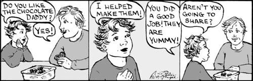 Home Spun comic strip #321