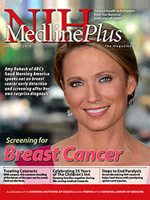 NIH MedlinePlus magazine Summer 2014 cover