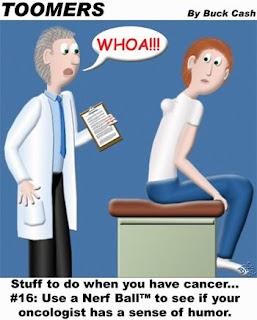 colorectal cancer jokes)