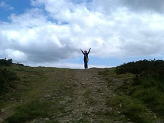 Top of the World...well, okay, the Moor... by Nancy Dunne