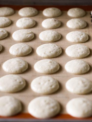 Daring Bakers October macarons - prebake