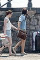 kit harington rose leslie arrive in capri 01