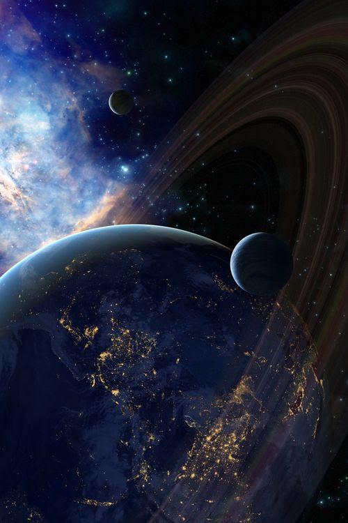 Saturno, glorioso universo