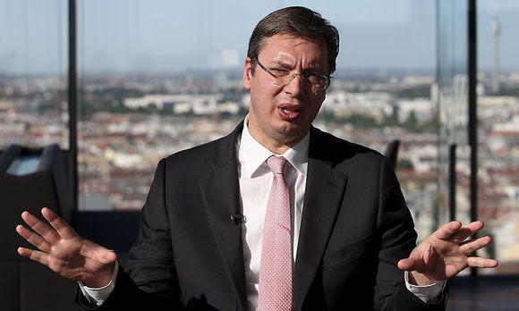 Serbiens Premier Aleksander Vucic