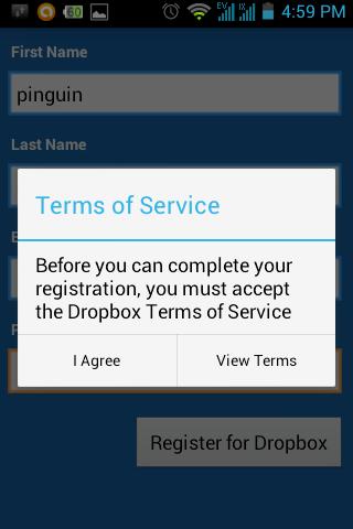 Daftar Dropbox
