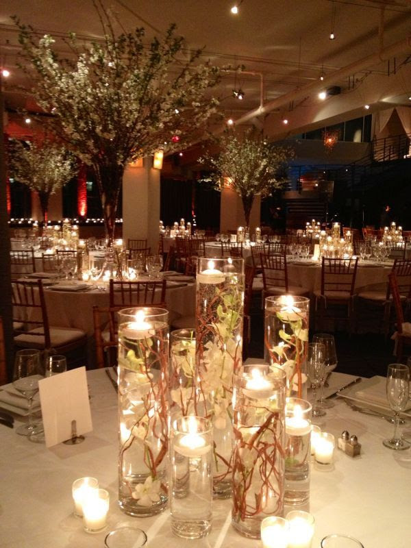 Wedding Vases With Floating Candles