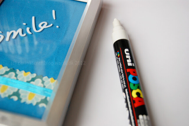 Picture frame as whiteboard - tutorial