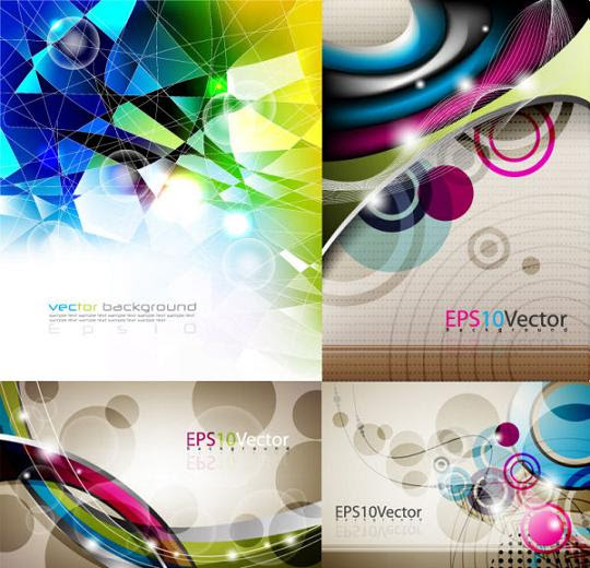 abstract vector background for web designers