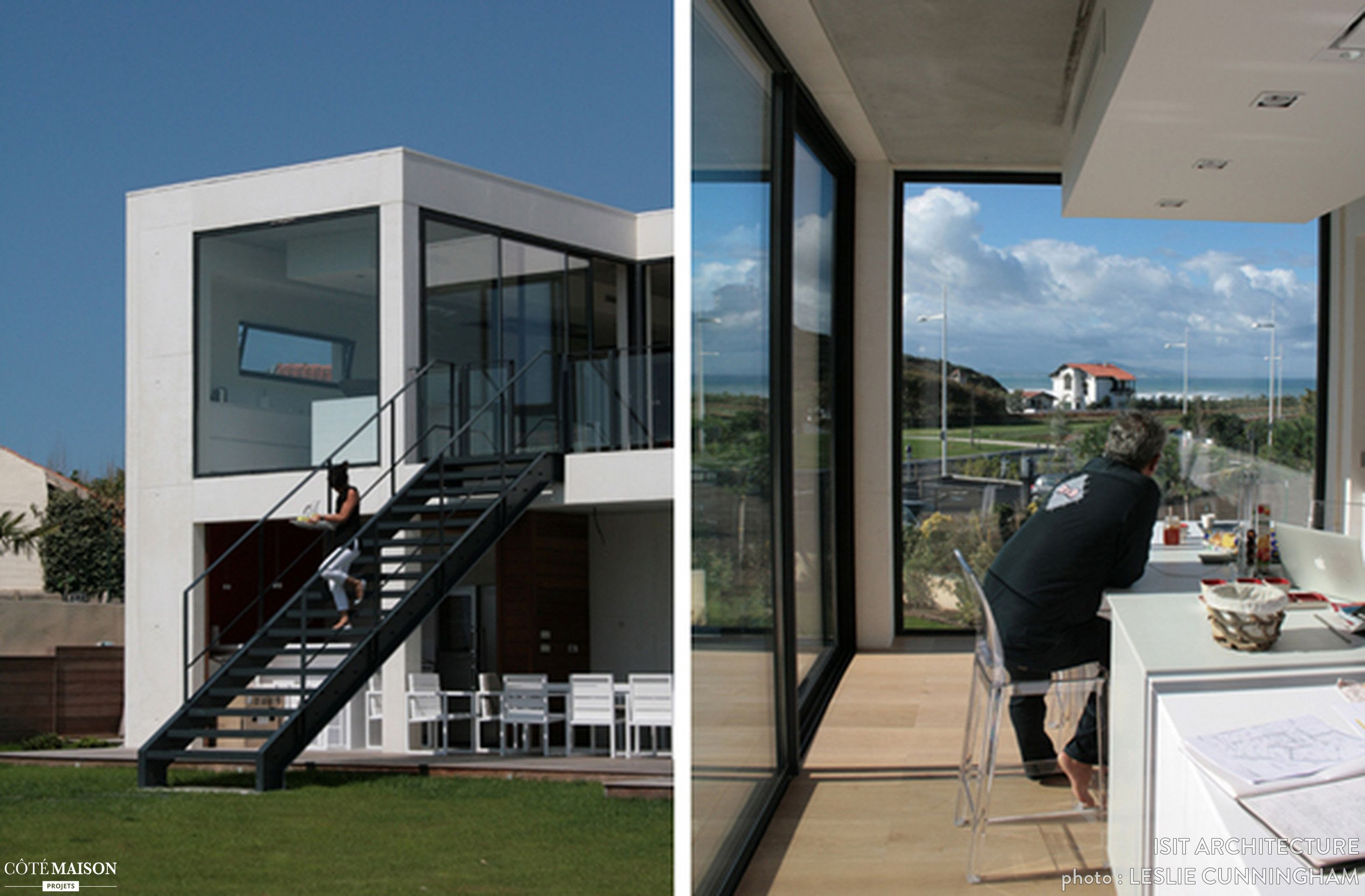 tailacreaciones: Maison Moderne Biarritz