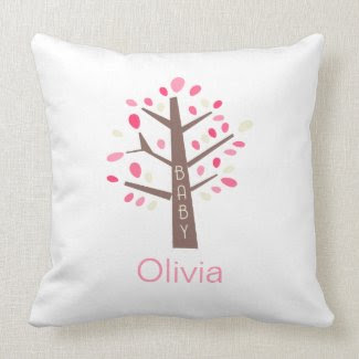 Tree Baby Pillow mojo_throwpillow