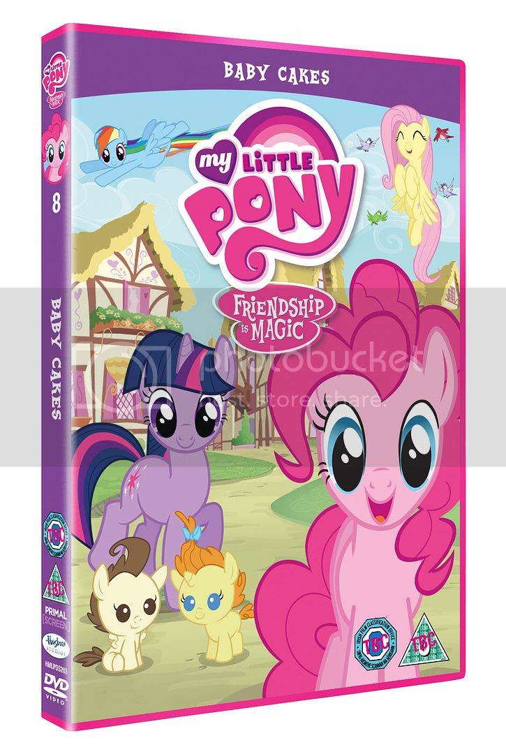 My Little Pony Baby cakes DVD