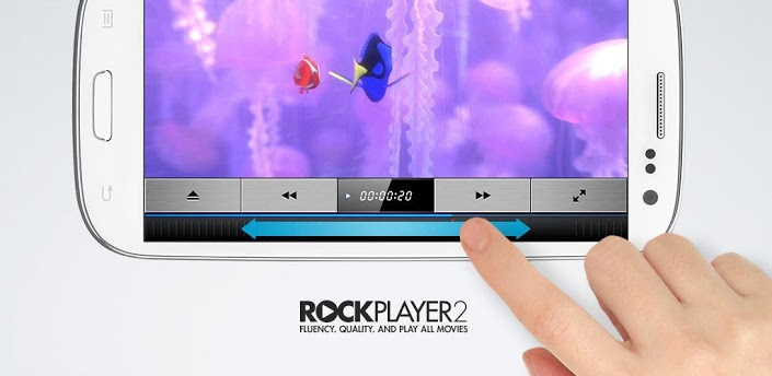 Top 5 Best Android Video Players To Download, best free android video players, rockplayer2 video player apk download