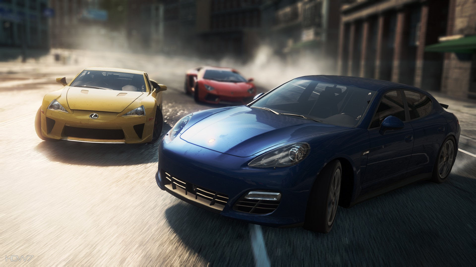 Need For Speed Most Wanted 2012 Porsche Panamera Turbo S