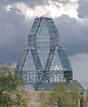 Deutsch: Ottawa: Kuppeln der Nationalgalerie