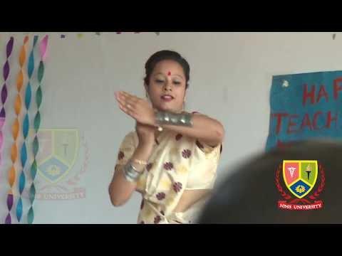 Assam Folk Dance Performance : Teachers Day | East India Songs