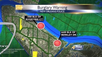 After string of car burglaries, NOPD warns residents to lock up their cars