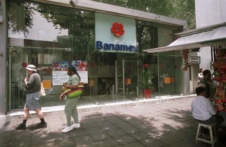 Una sucursal de Banamex en la ciudad de México. Foto: Eduardo Miranda
