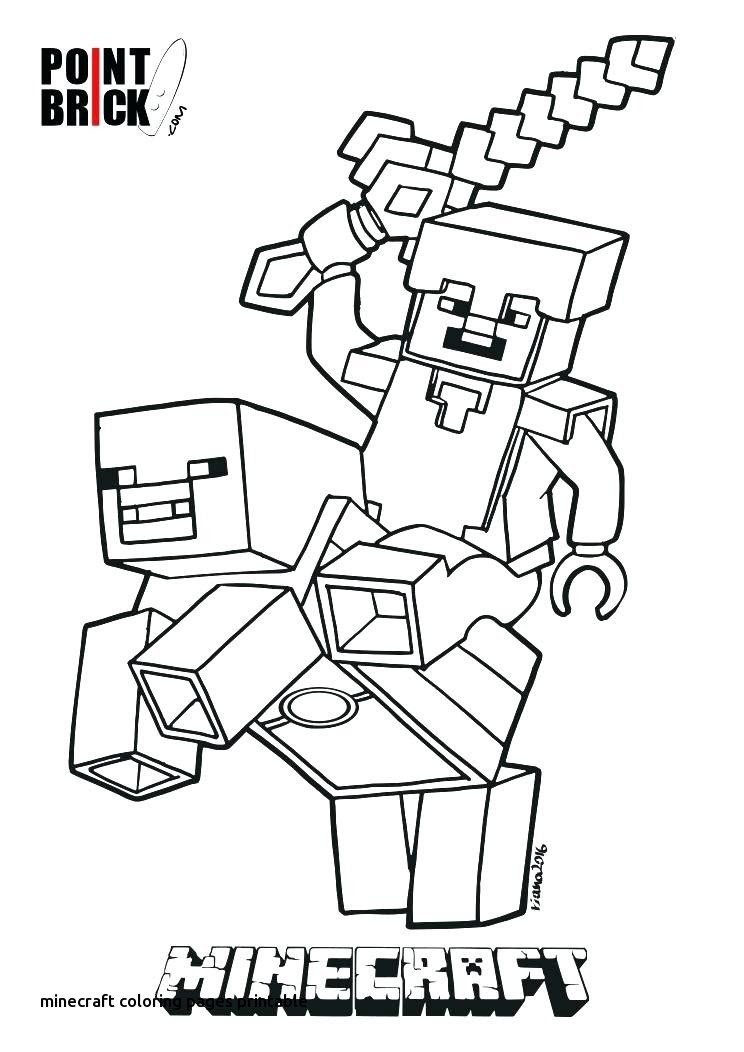Minecraft Steve Coloring Pages at GetColorings.com | Free ...