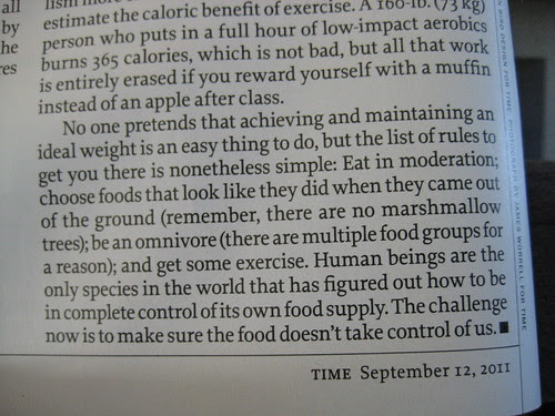 quote from Dr. Oz